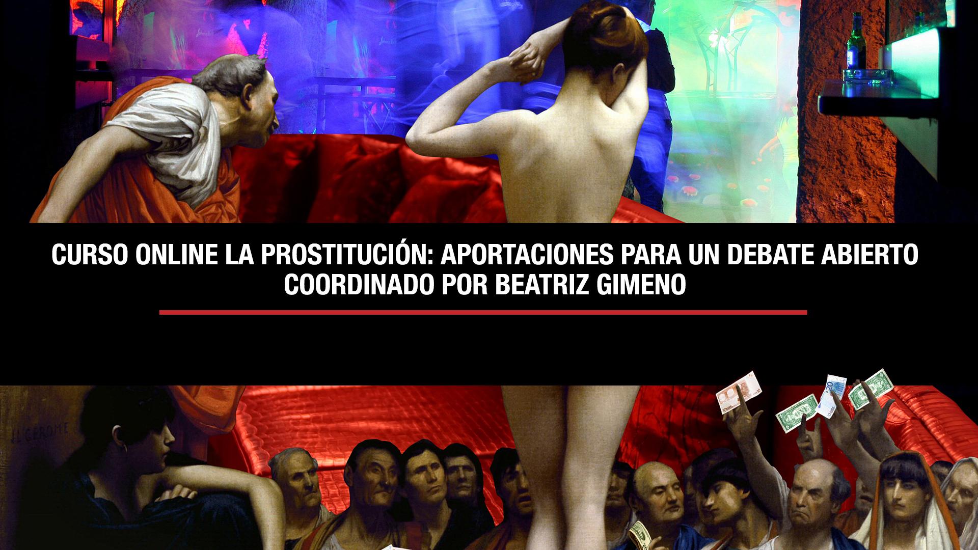 Curso Online: La Prostitución: Aportaciones Para Un Debate Abierto