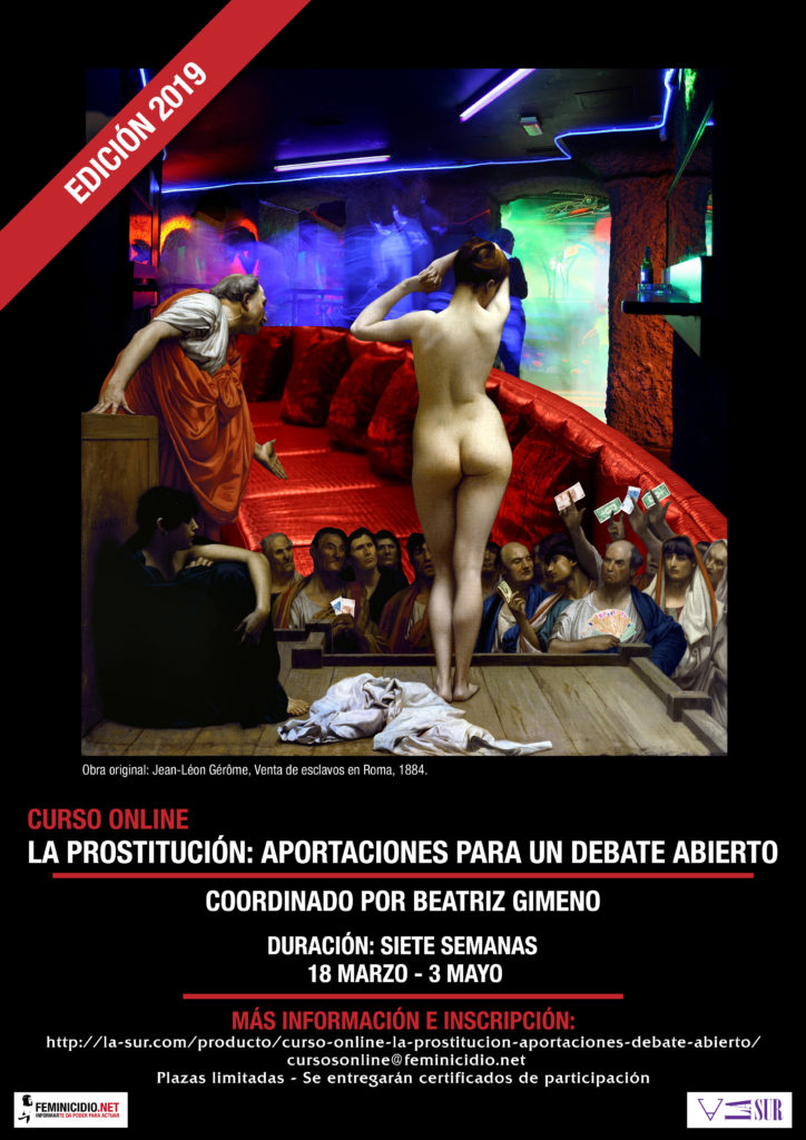 Curso online sobre el debate de la prostitución por Beatriz Gimeno