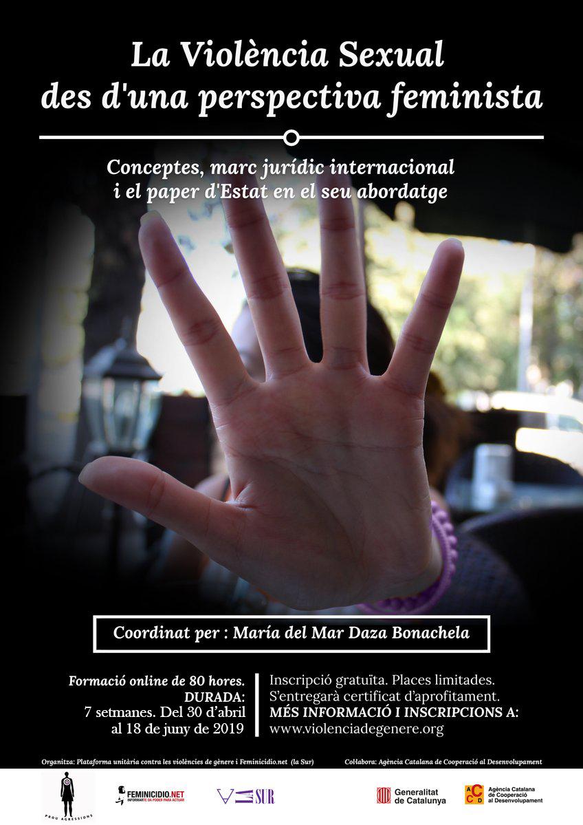 Curso Online: La Violencia Sexual Desde Una Perspectiva Jurídica Feminista