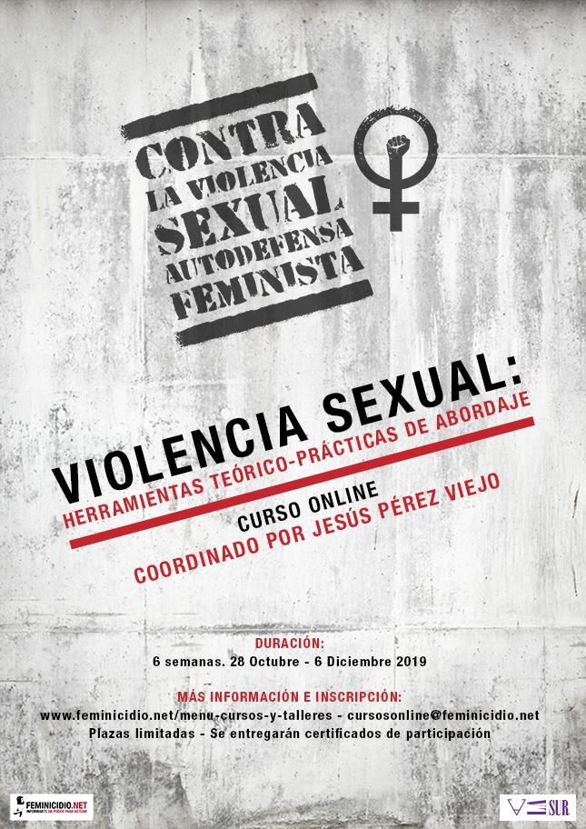 Curso online: Violencia sexual, herramientas teórico-prácticas de abordaje integral
